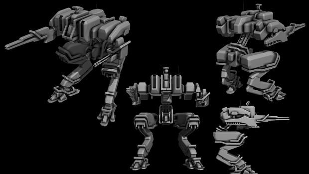 UEF T3 Seige bot