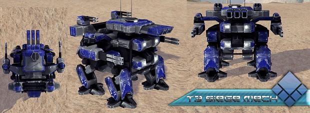 UEF T3 Siege Mech finished