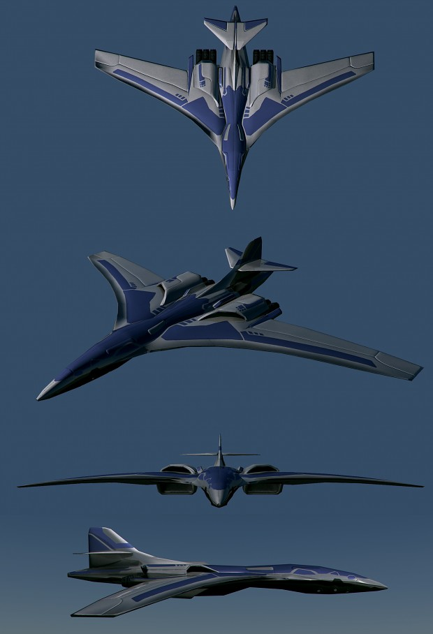 UEF T3 bomber MK II