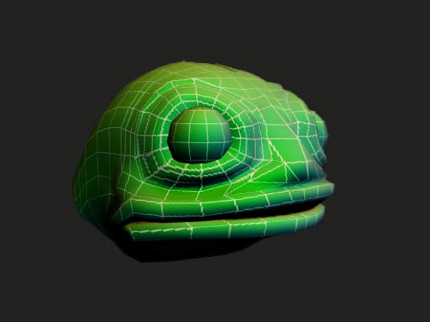 Slann Head Test Render