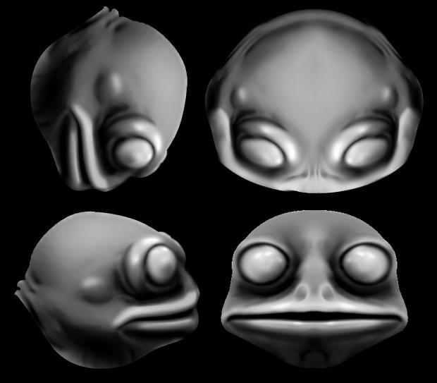 [Project] Slann Concept Art