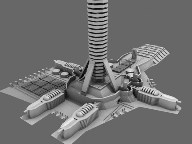 Update -- Space Elevator Concept image - Contingency mod for World