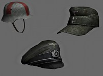 More Assorted Headgear
