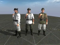 German Assorted Winter 44/45 Uniforms