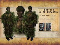 British Sniper Ghillie Suit