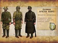 German Afrika Korps Heer Infanterie.