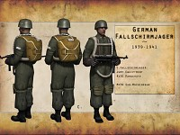 German Fallschirmjager 1939-1941