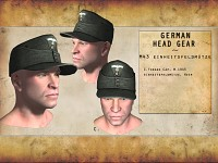 Re-modelled German Headgear - M43 Forage Cap