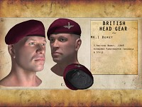 Re-modelled British Headgear - British Beret