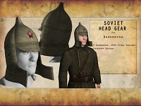 Re-modelled Soviet Headgear - Budenovka
