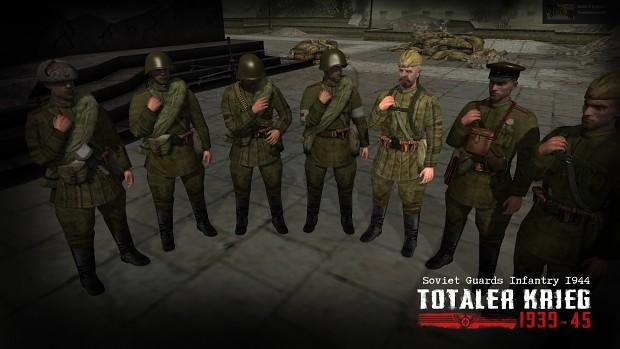 Soviet Guards Infantry 1944