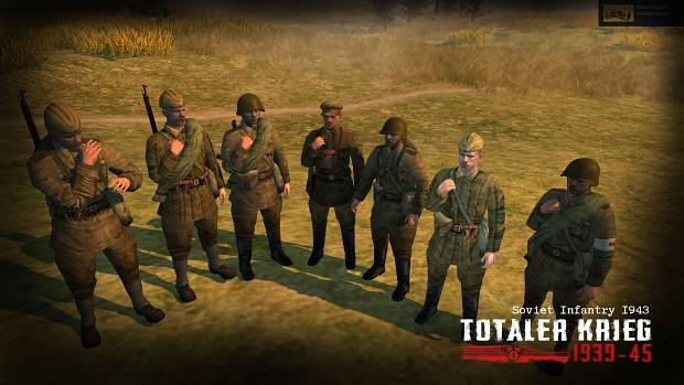 Soviet Infantry 1943