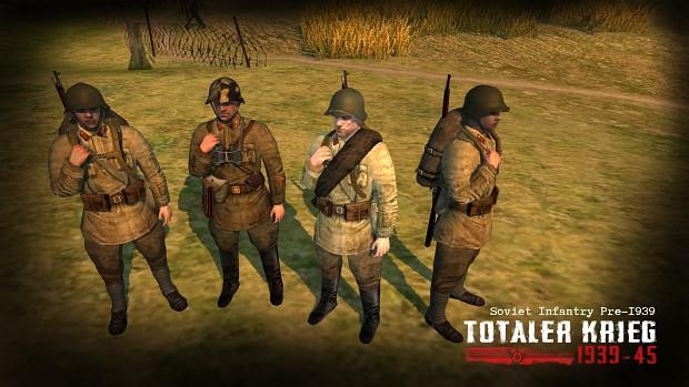 Soviet Infantry Pre-1939