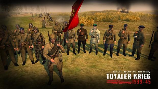 Soviet Assorted Infantry