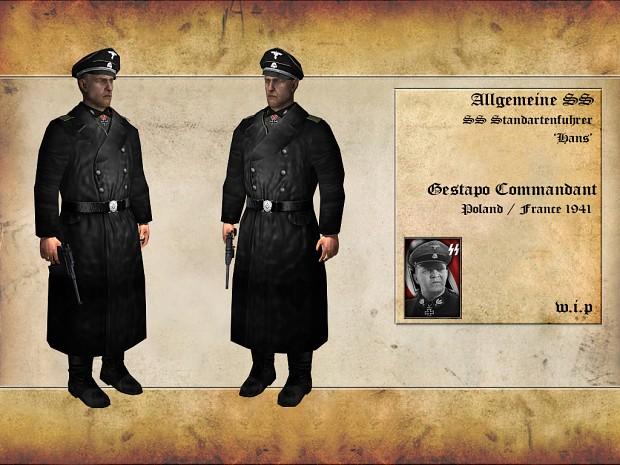 German Allgemeine SS Standartenfuhrer [W.I.P]