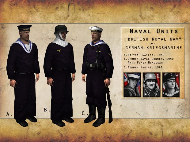 Assorted Naval Units