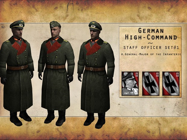 German High Command - Staff Officer Set #1