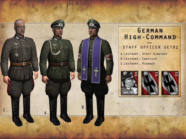 German High Command - Staff Officer Set #2
