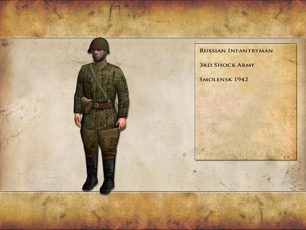 British & Russian Infantrymen