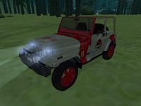 Jeep at night Again