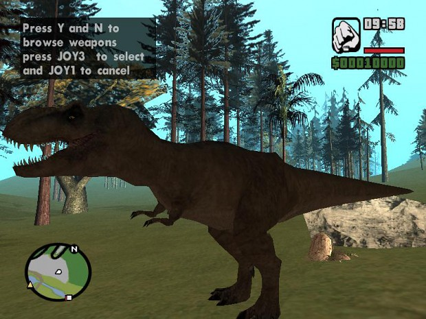 Los mods mas divertidos de la historia taringa for T rex location