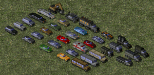 Civilian Vehicles, Batch #1