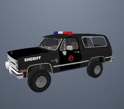 COPCARRU  County Sheriff