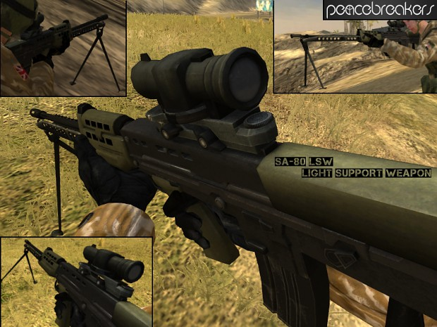 L86A1 - SA-80 Light Support Weapon