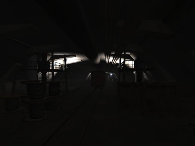 Finish Map : Service Tunnel