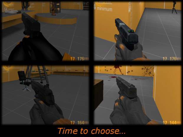 What hand and glock model do you want in HL:R?