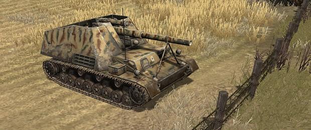 88mm Nashorn