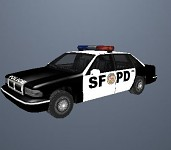 San Fransico Police Car Replaces Copcarsf