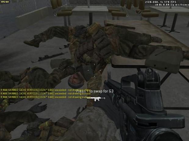 More in game screenshots
