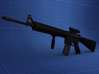 M16A4 Grip Render
