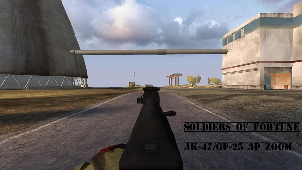 AK47 3d Iron Sights image - Soldiers Of Fortune mod for