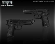 Beretta 92 FS Skin Render