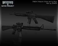 M16A4 Aimpoint Render