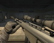 M82A1 Barret Desert Tan Skin
