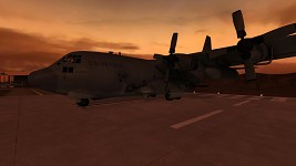 AC-130 Spectre, First Light Map