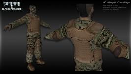 Marpat Camoflage HD Textures