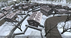 Winter Town Work In Progress Editor Screenshots