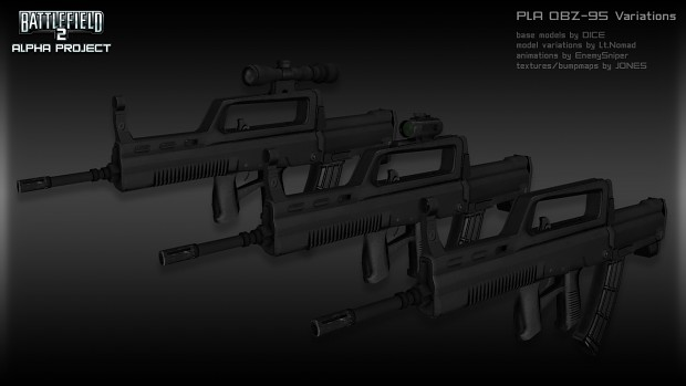 PLA Weapon Renders W.I.P.