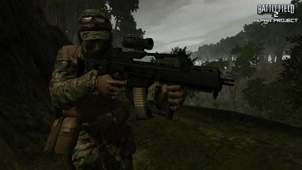 USMC HD Soldier Textures Ingame