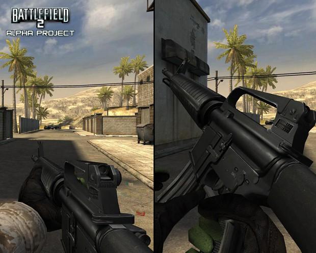 Colt M16A2 HD Skin