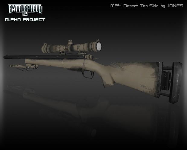 New M24 Textures Render