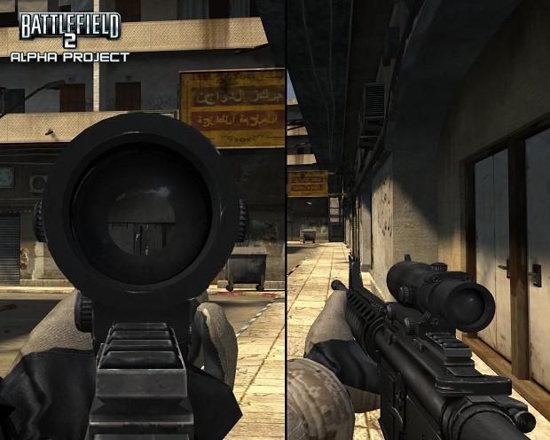 M4A1 Carbine Acog
