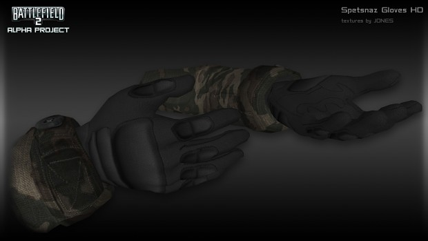 Tactical Spetsnaz HD Gloves
