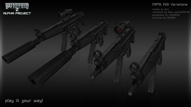 MP5 A3 Variations