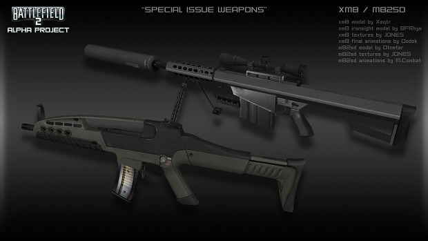 Special Issue Weapons