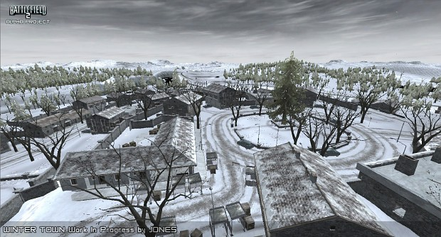 Winter Town W.I.P. Map Update